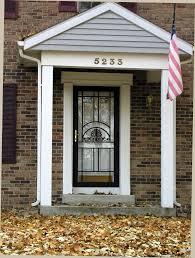steel security storm door for safety cleveland columbus