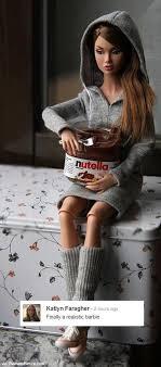 Barbie Meme - realistic barbie nutella know your meme