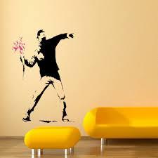 banksy bedroom wallpaper dact us online get cheap banksy wall mural aliexpresscom alibaba group