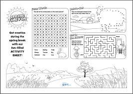 printable kids activities printable activity sheet for kids toner giant