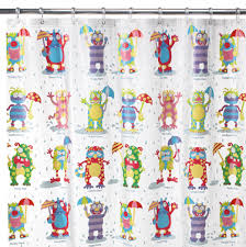 Childrens Shower Curtain Childrens Shower Curtains And Shower Curtains T Rex Mes