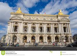 palais garnier opera house in paris editorial photography image