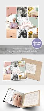 sle memorial programs 8 best images on program template dads and