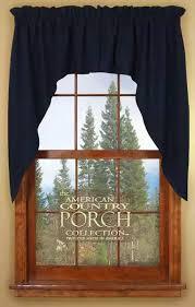Navy Curtain Navy Blue Window Curtain Swags