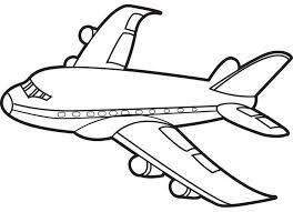 printable airplane coloring pages kids coloringstar
