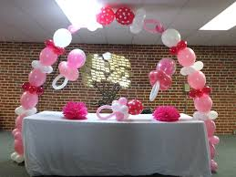 michael baby shower decorations balloon arch for baby shower design decoration