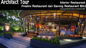 interior cafe restaurant fresto dan interior bali modern wisata