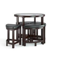 Bar Table And Chairs Space Saving Table And Chairs Where Funk Meets Practicality