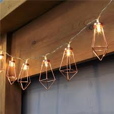 10led 20led decorative diamond led string lights rose gold fairy