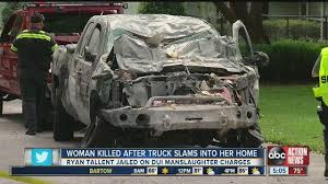 one person dead after car crashes into lakeland home