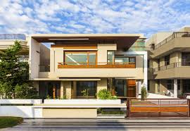 Modern Looking Houses Modern And Spacious Twin Courtyard House Designed By Charged Voids