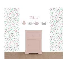 tapisserie chambre bebe nouveauté papier peint étoiles pour la chambre des enfants