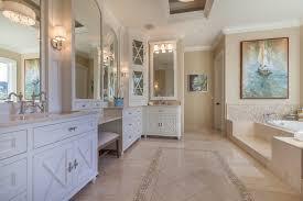 tile trim ideas bathroom traditional with beige molding beige