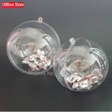 aliexpress buy transparent clear plastic hollow sphere