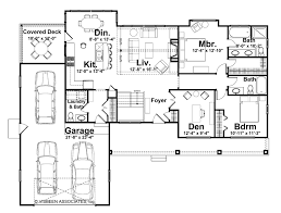 ranch style house plan 2 beds 2 50 baths 1568 sq ft plan 928 5