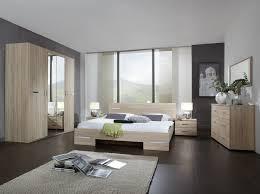 chambre adulte complète contemporaine chêne chrome brillant anabelle