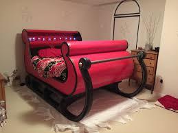 santa sleigh bed stuff i make for fun pinterest
