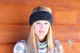 crochet ear warmer headband diy crochet ear warmer headband tutorial pinkwhen
