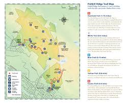 New York Appalachian Trail Map by Fishkill Ridge Scenic Hudson