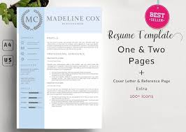 resume templates for pages modern clean resume template resume