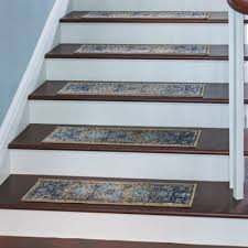 rowan embossed washable stair treads set of 4 improvements catalog
