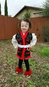 traditional polish toddler boy eastern european folk costume