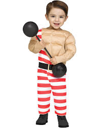 ted costume spirit halloween carny muscle man toddler circus halloween costume u2013 costume zoo