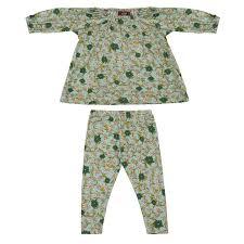 light blue long sleeve dress milkbarn baby long sleeve dress and legging set blue floral barn