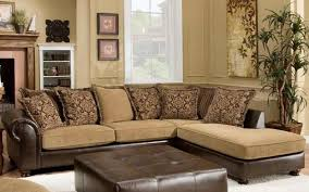Chaise Lounge Sofa With Recliner Impressive Sectional Sofa With Chaise Lounge Two Tone Sectional