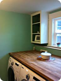 table over washer and dryer butcher block counter over washer and dryer burrus house