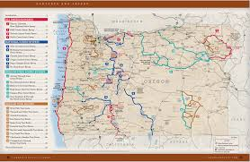 map of oregon 2 oregon part 2 silver falls state park adventure arc