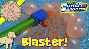 bunch balloons zuru bunch o balloons ambush blaster no hose needed