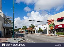 Little Havana Miami Map by Miami Florida Little Havana Calle Stock Photos U0026 Miami Florida