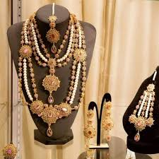 artificial and gold jewelry designs for wedding 2017 fashion