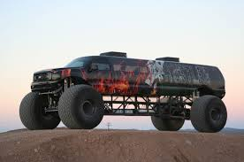 monster truck show nyc would you pay 1 million for a stretched ford excursion monster truck