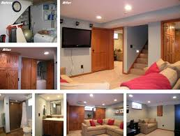 basement renovations ideas split level basement remodeling ideas