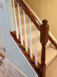 What Is Banister Updated The Oak Using