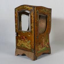 Boite A Sucre Vintage Porte Montre Boite à Bijoux Chaise à Porteur Napoléon Iii Xixéme