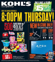 kohls black thursday 2013 sale shop kohls thanksgiving day deals