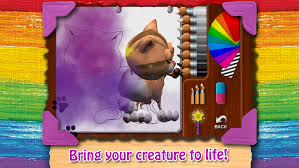 paint my cat color and play with little kitten android apps on