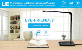 Cool Things For A Room To Buy Your Led Furniture Turns by Le Dimmable Led Desk Lamp 7 Dimming Levels Eye Care 8w Touch