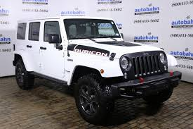 Used Jeep Wrangler Unlimited 2017 Used Jeep Wrangler Unlimited Rubicon Recon 4x4 At Autobahn