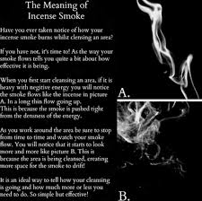 the meaning of incense smoke from the pagan poppet incense