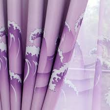 Lavender Blackout Curtains by Aliexpress Com Buy Dolphin Printing Window Curtains Blackout
