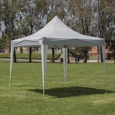 10x10 Metal Frame Gazebo by Amazon Com Belleze Premium 10 X 10 Feet Pop Up Canopy Tent