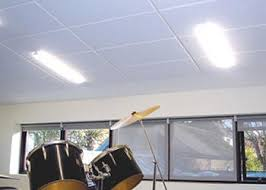 Sound Absorbing Ceiling Panels by Echosorption Plus Sound Absorbing Ceiling Tiles