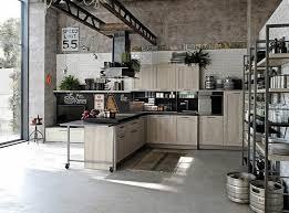 cuisine style industriel une beauté authentique industrial