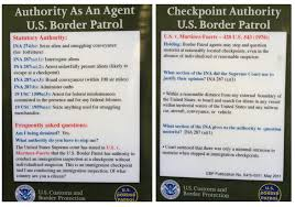 Interior Border Patrol Checkpoints Aclu Lodges Complaints Over Checkpoints In Southern Arizona