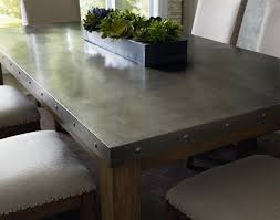 Metal Dining Room Tables Unique Riverton Stainless Steel top Dining