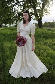 candlelight wedding dresses honey 1940 s wedding dress bridal attire vintage gown candlelight
